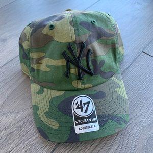 '47 Brand Yankee Camo Adjustable Cap